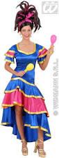 samba dancer with dress fancy dress costume spanish
