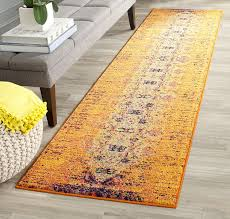Cheetah Runner Rug Orange Runner Rug Rugs Decoration
