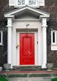 Red Front Doors Front Doors Inspirations Front Door Column 115 Front Door Canopy