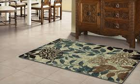 29 for a memory foam accent rug groupon