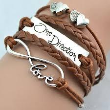 infinity love leather bracelet images One direction bracelets fashion love bracelets one direction love jpg