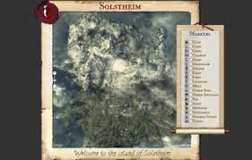 solstheim map solstheim map the most complete map of skyrim s dlc dragonborn