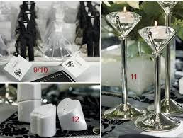 black tie party favors black tie elegance inspiration to reality
