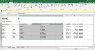 How To Create A Pivot Table In Excel 2016
