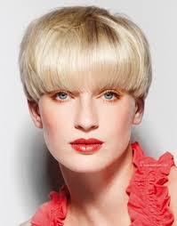 Mushroom Hairstyle Short Mushroom Haircut That Covers One Quarter Of The Ear Pixie