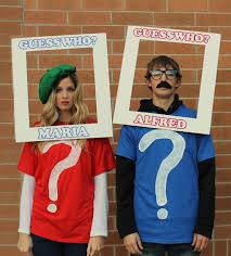 clever halloween costume ideas for couples a family guess who game hey that u0027d be a good way to help the