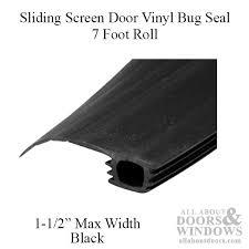 Patio Door Weatherstripping Screen Door Bug Seal Bug Seal All About Doors