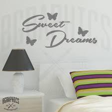 sweet dreams with butterflies bedroom wall art quote bgraphics sweet dreams with butterflies bedroom wall art quote