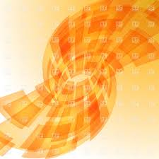 digital backgrounds abstract fanlike orange digital background vector image 20847