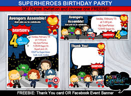 free superhero birthday invitations choice image invitation