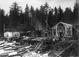 Kwakiutl Village of Xumtaspi-