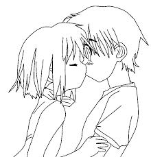 anime couple by deathdaredevil on deviantart