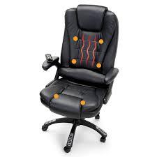 heated massaging executive chair hammacher schlemmer