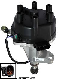 nissan frontier ignition switch amazon com apdty 22100 7b001 ignition distributor w new cap