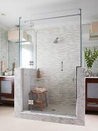 bathroom shower design ideas seating for walk in showers