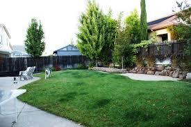 Easy Backyard Landscaping Ideas Simple Backyard Garden Ideas Best House Design Small Simple