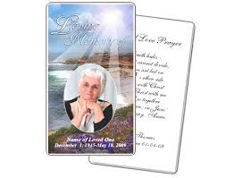 prayer cards for funerals 10 best prayer cards and templates images on funeral