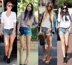 Common Como Combinar Short Jeans: Dicas | Moda - Cultura Mix #FC62