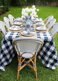Hadley Bistro Chair Decorating With Blue And White A Perennial Spring Favorite Hadley