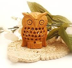owl decorations for home amazon com items on sale owl statue premium quality wooden