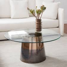 streamline coffee table west elm cast coffee table antique brass west elm