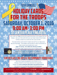 holiday cards for troops 2016 the community roundtable