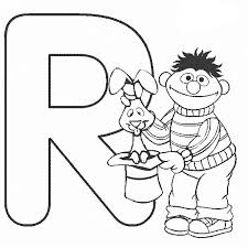 elmo alphabet coloring pages coloring home
