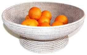 white fruit bowl large round pedestal fruit bowl white wash fruit bowls and