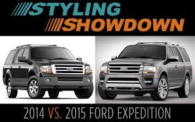 styling showdown 2014 vs 2015 ford expedition truck trend