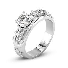 vancaro engagement rings harbor of rope anchor engagement solitaire ring with five
