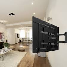 amazon com tv wall mount bracket full motion dual articulating