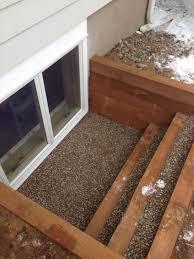 egress window timber well window well idea pinterest egress