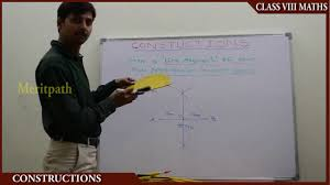 8 class cbse viii maths practical geometry part 1 youtube
