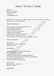 Resume Samples Warehouse Manager by Resume For Spa Manager Free Resume Example And Writing Download