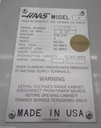haas wiring diagram haas sl tce cnc lathe st machinery haas rs