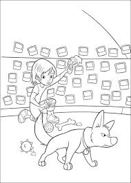 kids fun 32 coloring pages bolt