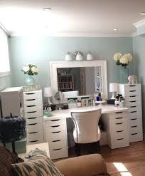 Makeup Vanities For Bedrooms With Lights Diy Makeup Vanity Brilliant Setup For Your Room With Vanities