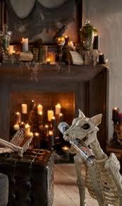 Halloween Skeleton Dog Decoration by Shadow The Skeleton Dog On Leash Skeletons Dog And Halloween Ideas