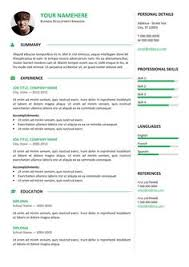 orienta free professional cover letter template blue classic