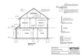 example building plans developer 2 bedroom house