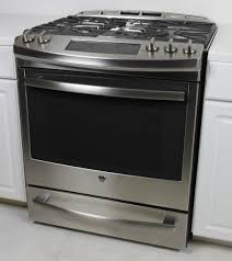 Slide In Gas Cooktop Ge Profile Pgs920sefss Slide In Gas Range Review Reviewed Com Ovens