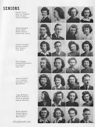 yearbook programs carthage mo hs 1945 yearbook 11 yearbooks alumni rosters