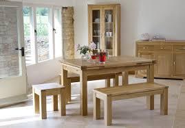 dining room bench sets bevel solid oak range dining furniture oak table u0026 bench set