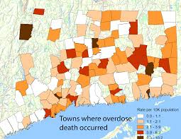 Map Of Ct Towns The Day Connecticut Sees Sharp Increase In Overdose Deaths Of