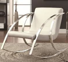 Luxury Rocking Chair Luxury Leather Rocking Chair Design 86 In Davids Island For Your