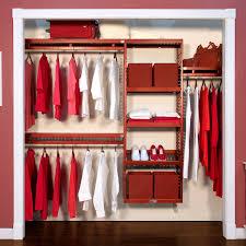 simple wood closet organizer l john louis home