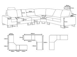 Sofa Lengths Standard Sofa Size In Cm Sofa Hpricot Com