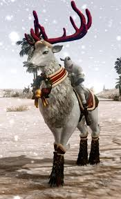 archeage fashion white reindeer