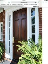 Front Door Colors For Brick House by Front Door Colors For Yellow Brick House Color Ideas Red