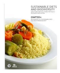 cuisine m iterran nne definition mediterranean diet an integrated view pdf available